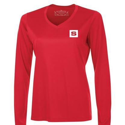 Image de T-shirt poly Femme M.L. L3520LS