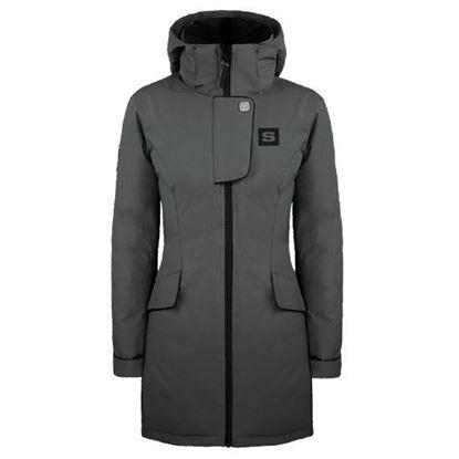 Image de Manteau hiver femme gris #MONCTON