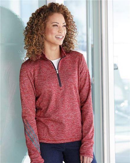 Image sur Chandail 1/4 zip tricot - Adidas